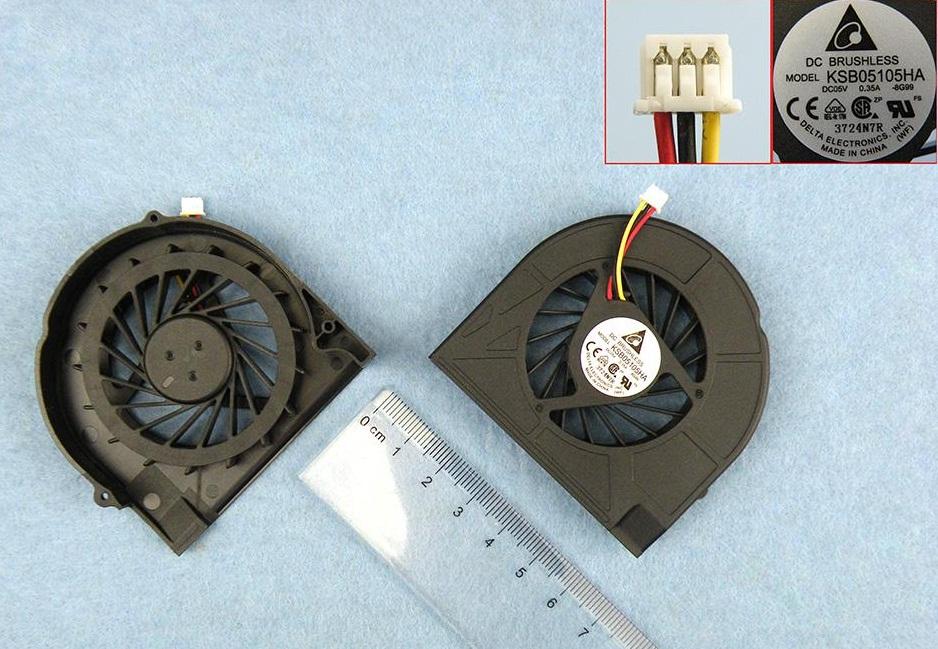 Ventilátor chlazení pro notebooky HP Compaq Presario CQ50 CQ60 CQ70 G50 G60 G70