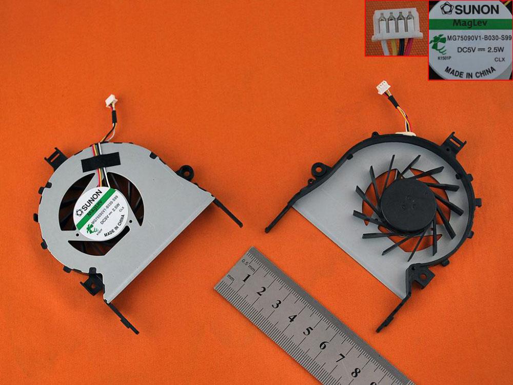 Ventilátor chlazení pro notebooky Acer Aspire 5745 5745G