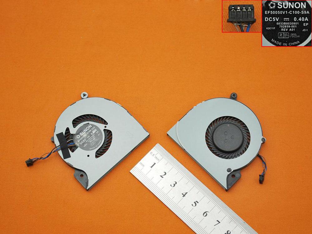 Ventilátor chlazení pro HP Elitebook Folio 9470 9470M