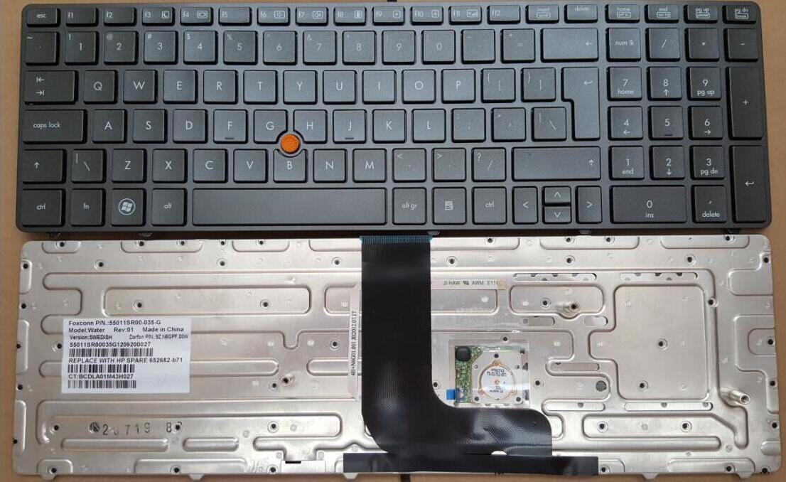 Klávesnice HP EliteBook 8560W 8570W