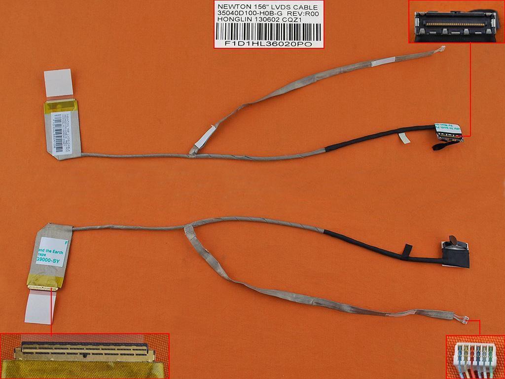 LCD flex kabel pro notebooky HP Compaq Presario CQ58