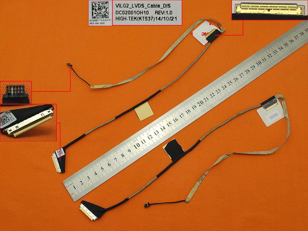 LCD flex kabel pro notebooky Acer Aspire E1-510 E1-510P E1-530 E1-530G E1-532 V5-561 V5-561G V5-561P Travelmate P255 P255-M
