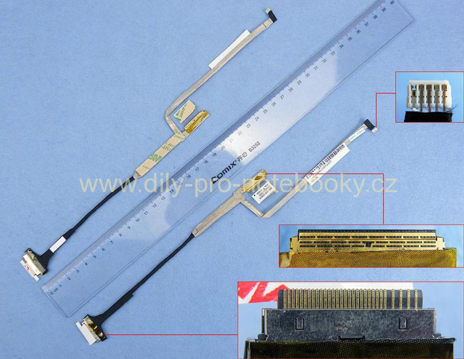 LCD flex kabel pro notebooky Acer Aspire One D257 D270, One Happy 2