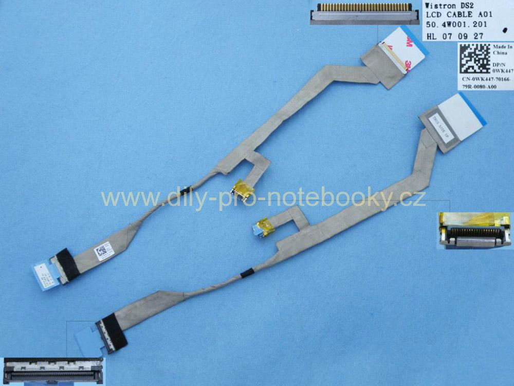LCD flex kabel pro notebook Dell Inspiron 1525 1526