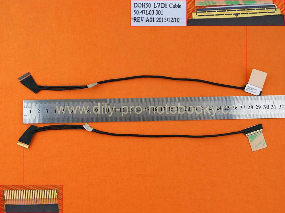 LCD flex kabel pro notebook Dell Inspiron 15 15-7537 75 3715 7000 7537, 40PIN