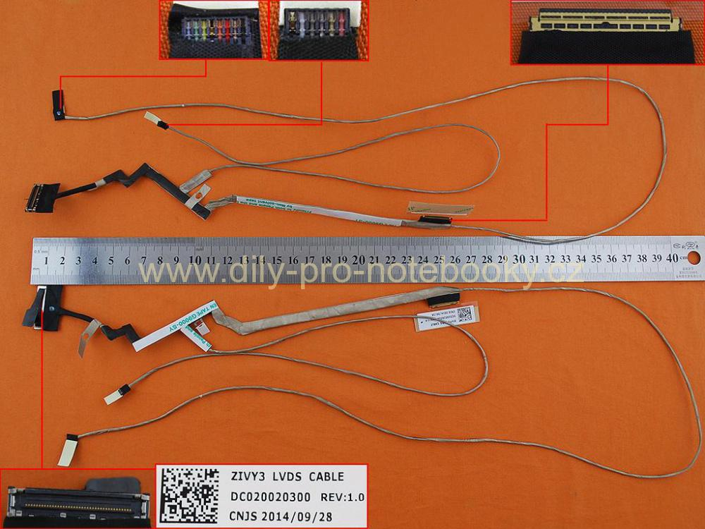 LCD flex kabel pro notebooky Lenovo IdeaPad Y70 Y70-70