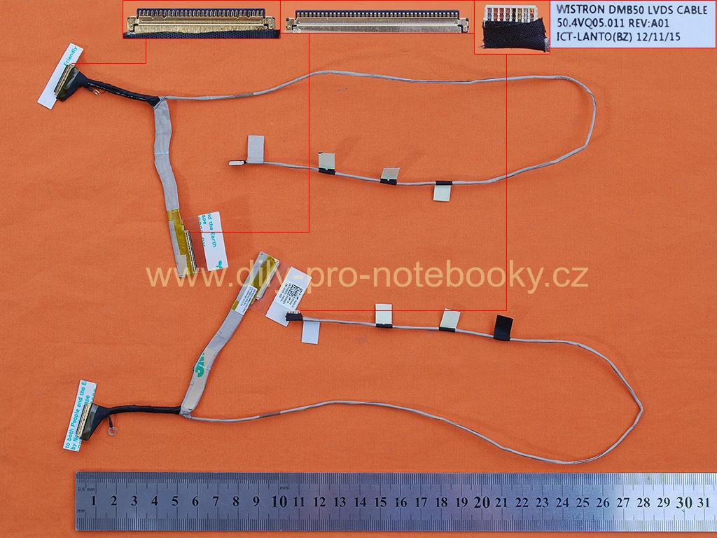 LCD flex kabel pro notebook Dell Inspiron 15Z 5523