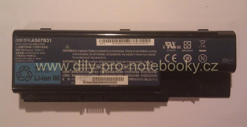 Baterie Acer Aspire 5935 5935G 6530G - AS07B31