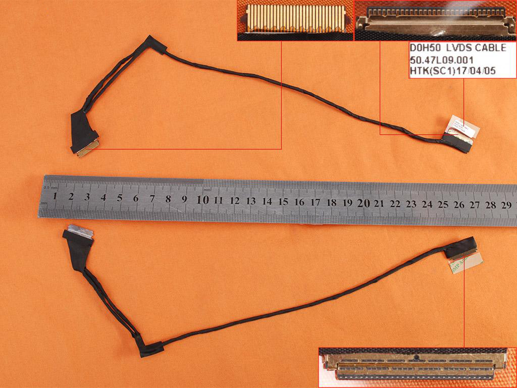 LCD flex kabel pro notebook Dell Inspiron 15 15-7537 75 3715 7000 7537 , 30PIN
